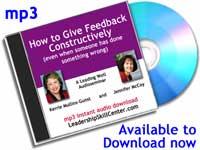 Constructive feedback seminar