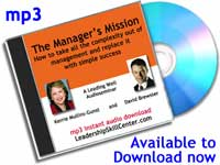 leader and manager mission